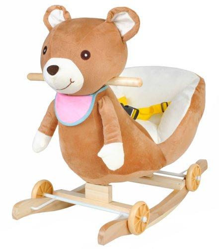 Hojdacie kreslo na kolesách - medveď