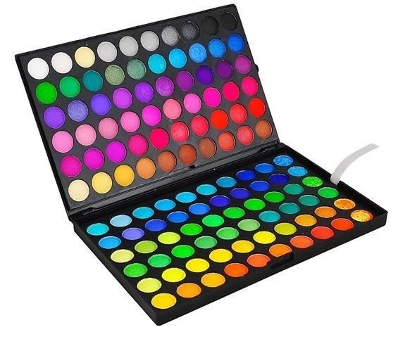 Tieňová paleta - 120 farieb