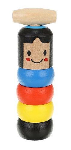 Farebný magický muž - drevená hračka